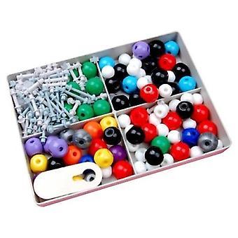 240 Stk | Molekulares Modell | Organische und anorganische Chemie | Wissenschaftliche Chemie Atom molekulare Modelle Links Lehre Kit Set