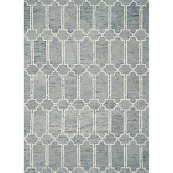 GRA 1631 8'X 10' / Blauer Teppich