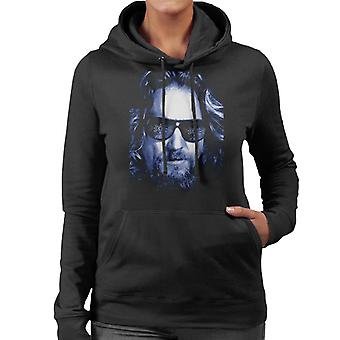 The Big Lebowski The Dude Face kallt filter Kvinnor & apos, s Hooded Sweatshirt