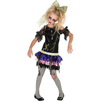 Rubies Childrens/Kids Zombie Doll Costume