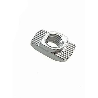T Nut Hammer Head- M3 To M8 Connector Nickel Plated