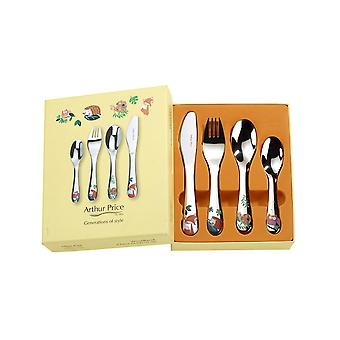 Arthur Price Cherish Woodland 4 Piece Child Cutlery