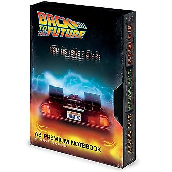 Back To The Future Great Scott VHS A5 Notebook