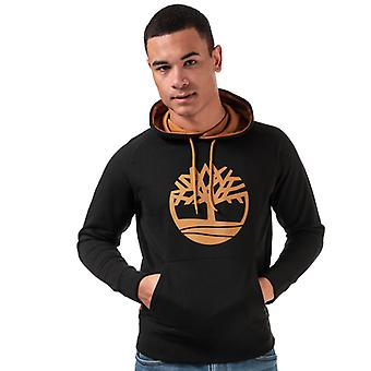Men's Timberland Oyster Tree Hoody in Black