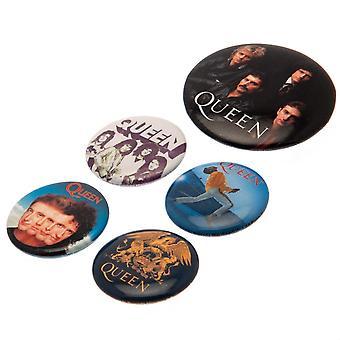 Queen Classic Badge Set (5 kpl pakkaus)