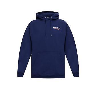 Balenciaga 600583tiv531195 Männer's blau Baumwolle Sweatshirt