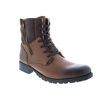 Andrew Marc Vesey Fleece  Mens Brown Synthetic Casual Dress Boots