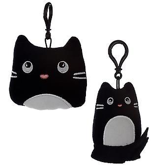 Plüsch Katze feine Katze Schlüsselanhänger 2 mitgeliefert