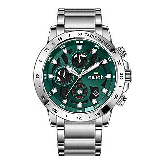 SWISH 0105 Casual Luminous Date Display Chronograph Waterproof Men Quartz Watch