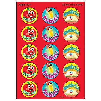 School Time/Apple Stinky Stickers, 60 Ct.