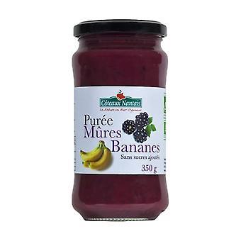 Ripe banana puree without sugar 350 g