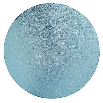 """14"""" (355mm) Cake Board Round Light Blue - sencillo"""
