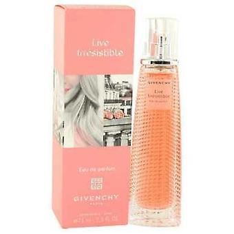Live vastustamaton mukaan Givenchy Eau de Parfum Spray 2,5 oz (naiset) V728-529589