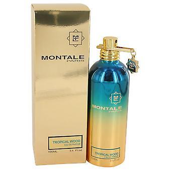 Montale Tropical bois Eau De Parfum Spray (Unisex) par Montale 3.4 oz Eau De Parfum Spray