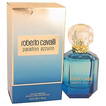 Roberto Cavalli Paradiso Azzurro Eau De Parfum Spray mennessä Roberto Cavalli 2.5 oz Eau De Parfum Spray