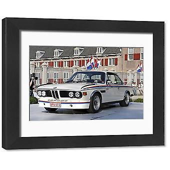 BMW 3.0 csl. Kehystetty valokuva. BMW 3.0 csl.