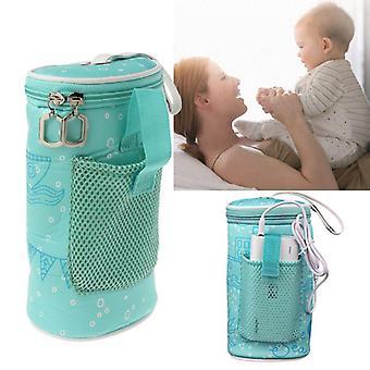 Usb babyflaska värmare värmare isolerad väska Resekopp