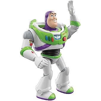 Disney Pixar Interactables Buzz Lightyear Talking Action Figure, 7-in / 17.8-cm Tall Posable Movie
