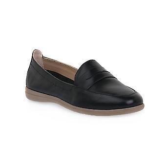 Jana comfort black shoes