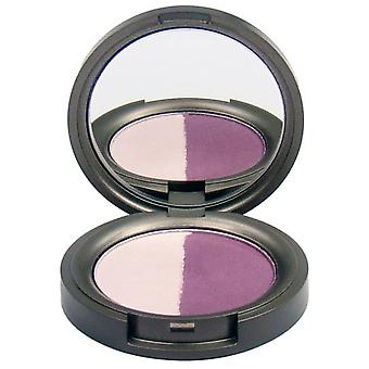 Beauty Without Cruelty Lidschatten Compact Mineral Duo Juicy Plum