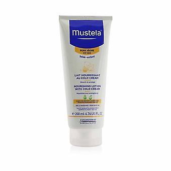 Mustela närande kroppslotion med Cold Cream - för torr hud 200ml/6,76 oz
