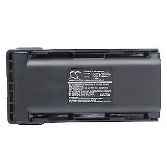 Akku für Icom BP235 BP236 BP-253 BP254 IC-F70 IC-F80 IC-F80DS IC-F80DT 2500mA