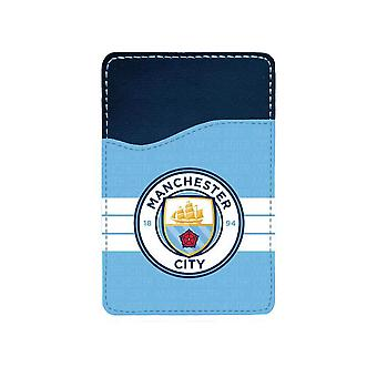Manchester City 2016 Logo Adhesive Card Holder For Mobile Phone