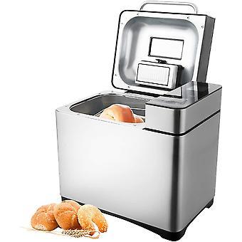 HanFei Brotbackautomat 19 Backprogramme,3 verschiedene Bräunungsgrade,Timing-Funktion,500-1000g