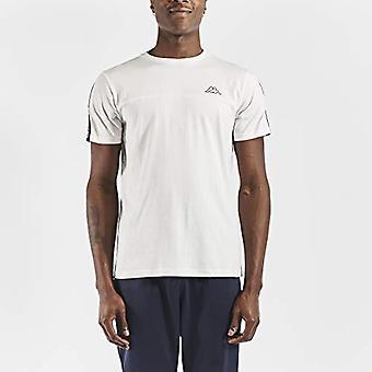 Kappa Herren ITAP T-Shirt, Blanco, M