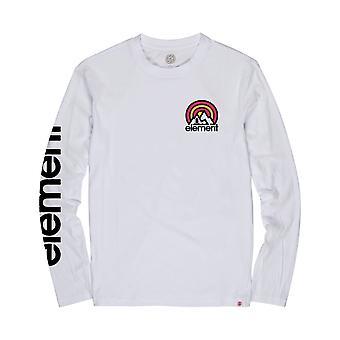 T-shirt à manches longues De sonate d'élément dans le blanc optique