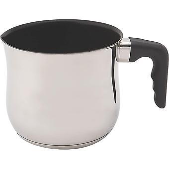 FengChun 1022 Anti-Stick-Milch/Sauce/Boiling Pot mit Bekalite Griff, Edelstahl, Silber, 15,2 x