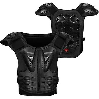 Kids Armor Vest Detachable Body Chest Spine Back Protector Vest Protective Jacket for Cycling Skating Skiing Skateboarding
