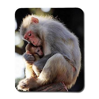 Äiti ja vauva apina hiiri pad
