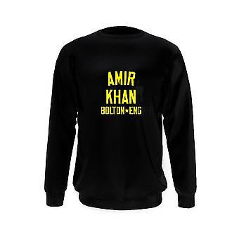 Amir khan bokslegende kinderen sweatshirt