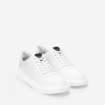 Cole Haan Grandpro Rally Ladies Cotton Trainers White