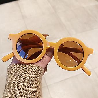 Çocuk Moda Yuvarlak Güneş Gözlüğü