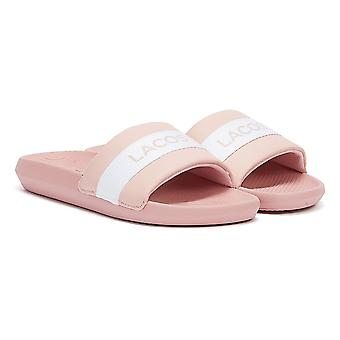 Lacoste Croco Silde Womens Pink Sandal