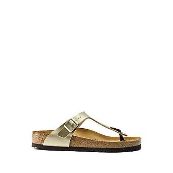 Birkenstock - Sapatos - Chinelos - GIZEH-1016109-GOLD - Mulheres - Ouro - EU 41