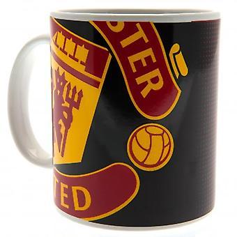 Manchester United FC Half Tone Mug