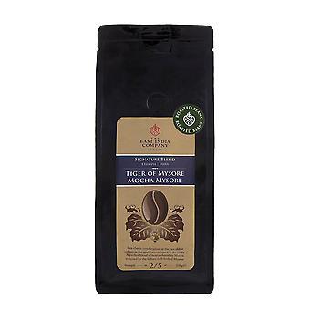 The East India Company - Tiger of Mysore, Mocha Mysore Roasted Arabica Coffee Beans 250g