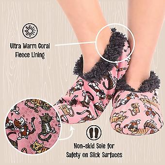 Lazy One Fuzzy Feet Slippers for Women