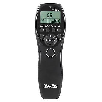 2.4G bezdrátové dálkové ovládání lcd časovač závěrka uvolňovač vysílač přijímač 32 kanálů