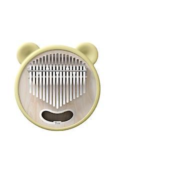 Cute animal kalimba 17 keys cat ear mbira piano keyboard smile music box gifts for lovers and friends calimba music instruments