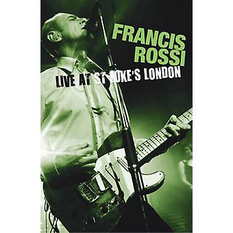 Francis Rossi Live from St. Lukes Londen DVD (2011) Francis Rossi cert E Region 2