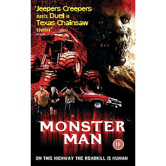 Monster Man DVD (2005) Eric Jungmann Davis (DIR) cert 18 Região 2