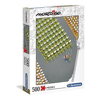 Clementoni Mordillo Le puzzle de mars (500 pièces)
