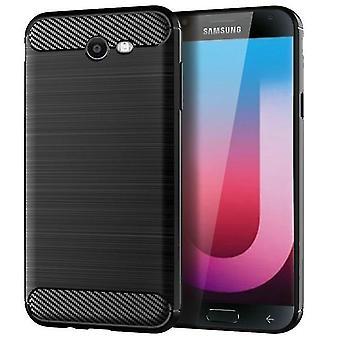 Kestävä iskunkestävä suojakuorikotelo Samsung Galaxy J7 Sky Prolle - musta