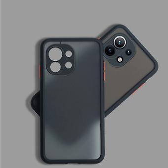 Balsam Xiaomi Mi 10 Case with Frame Bumper - Case Cover Silicone TPU Anti-Shock Black