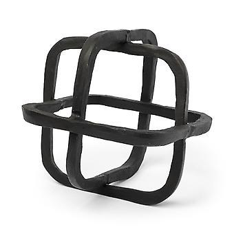 Black Metal Cuben muotoinen linkkiveistos