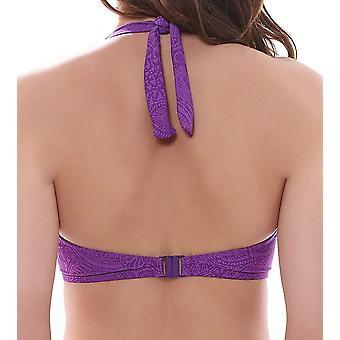 Fantasie Lombok FS6007 W Underwired Banded Bikini Top Purple Haze (PUZ)